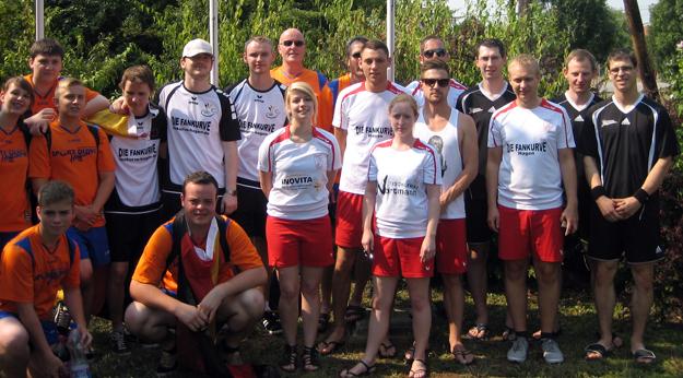 Die deutschen Teilnehmer an den 18. Hungarian Open. (Foto: Uwe Walter)