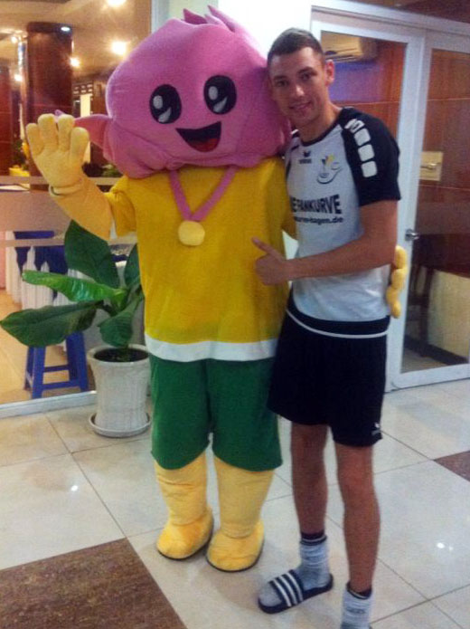 Holte zum zweiten Mal WM-Bronze: David Zentarra.