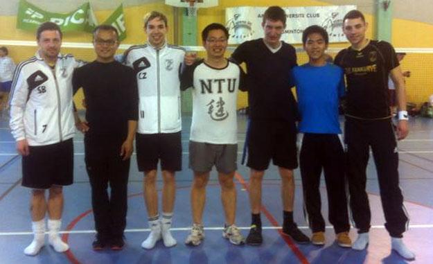 Singapur war absolut kein Prüfstein für Stefan Blank, Christopher Zentarra, Florian Krick und David Zentarra.