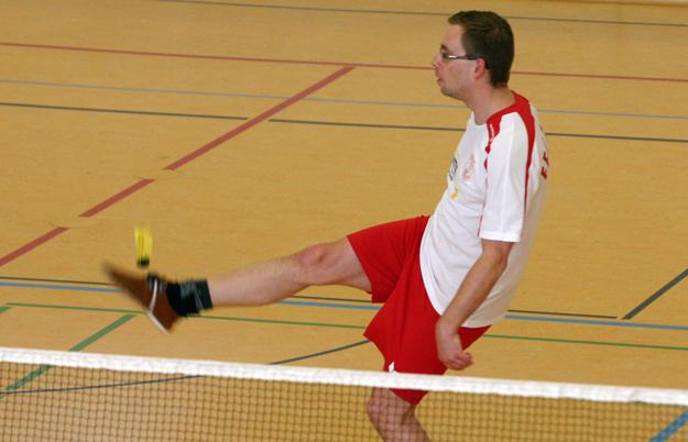Der ehemalige Wasserballer Yvo Rüsseler steht mit dem FFC Hagen 2 an der Tabellenspitze (Foto: Karsten-Thilo Raab).