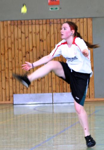 Sarah Rüth kam in Bochum auf Platz 2 bei der A-Jugend. (Foto: Karsten-Thilo Raab)