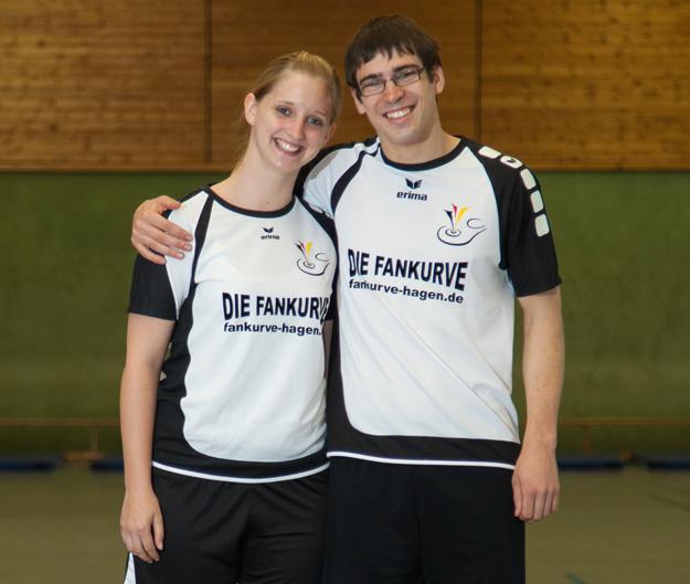 Wollen in Rom eine gewichtige Rolle spielen: Tanja Schlette und Philipp Münzner vom TV Lipperode. (Foto: Michael Volmer)