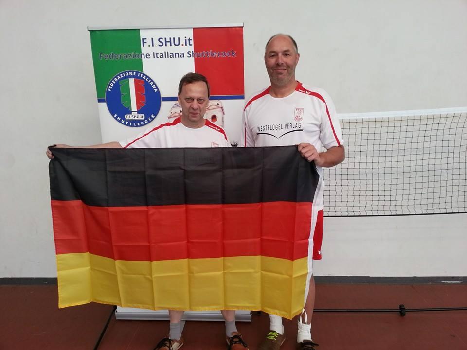 """Die beiden """"Oldies"""" Uwe Walter und Karsten-Thilo Raab erkämpften einen hervorragenden 10. Platz in Rom."""