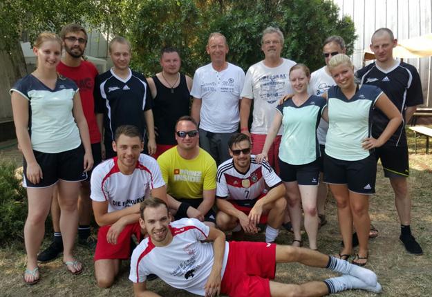 Die deutschen Teilnehmer bei den 20. Hungarian Open.