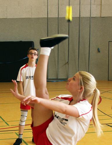 Im Einzel und Doppel am Start: Frida Varga vom FFC Hagen. (Foto Karsten-Thilo Raab)