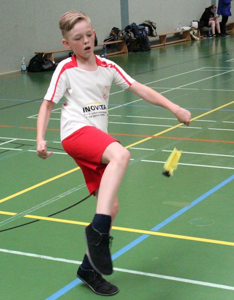 Will bei der C-Jugend ganz vorne landen: Robin Weber vom FFC Hagen. (Foto Karsten-Thilo Raab)
