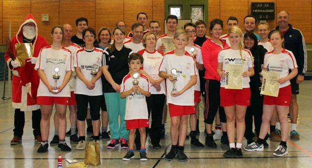 Die Teilnehmer der 8. Vereinsmeisterschaft des FFC Hagen. (Foto Karsten-Thilo Raab)