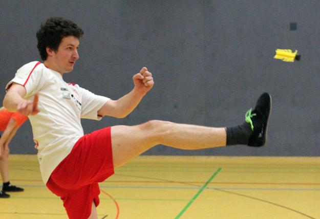 Schaffte bei den Herren den Einzug ins Viertelfinale: Florian Krick. (Foto Karsten-Thilo Raab)