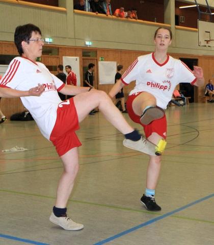 Frauenpower aus Reihen des FFC: (v.l.) Marion Weber und Vanessa Kröner. (Foto Karsten-Thilo Raab)