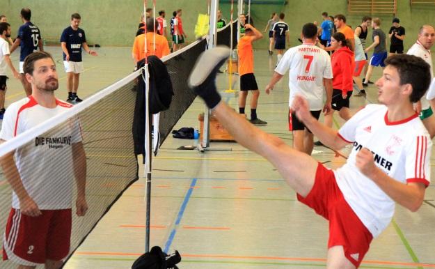 Florian Krick schob sich mit der Mannschaft auf Platz 10. (Foto Karsten-Thilo Raab)