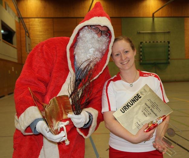 Vereinsmeisterin 2016 bei den Damen: Sarah Rüsseler. (Foto Karsten-Thilo Raab)