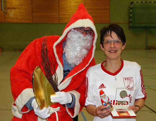 Vereinsmeisterin 2016 bei den Seniorinnen: Marion Weber. (Foto Karsten-Thilo Raab)