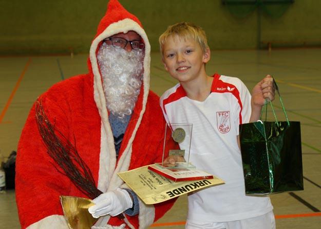 Vereinsmeister der männlichen C-Jugend: Calvin Weber. (Foto Karsten-Thilo Raab)