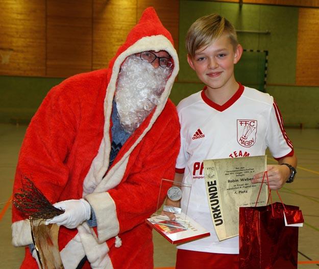 Vereinsmeister der männlichen B-Jugend: Robin Weber. (Foto Karsten-Thilo Raab)